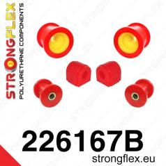 VW Jetta StrongFlex sestava silentbloků jen pro přední nápravu 6 ks