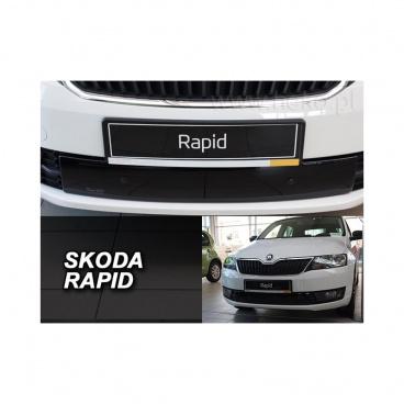 Zimní clona - kryt chladiče dolní - Škoda Rapid, 2012- , spaceback / liftback, 4/5 dveř.