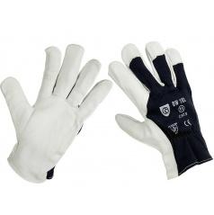 Pracovní rukavice z pravé kůže vel. 10