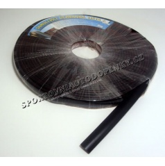 Lišta samolepící gumová černá