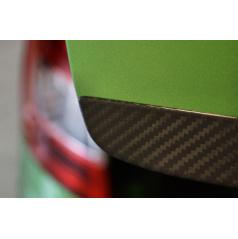 Spodní lišta zadních 5.dveří z pravého karbonu OMTEC Škoda Octavia III Combi