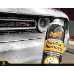 Meguiars Heavy Duty Bug Tar Remover pěnový odstraňovač hmyzu a asfaltu 425 g