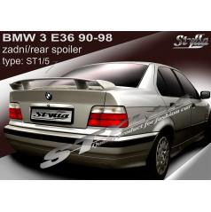 BMW 3/E36 SEDAN 90-98 spoiler zadní kapoty (EU homologace)