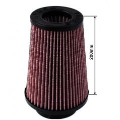 Sportovní vzduchový filtr TurboWorks průměr 80-89 mm, výška 200 mm