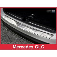 Nerez kryt-ochrana prahu zadního nárazníku Mercedes GLC 2015+