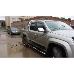 VW Amarok 2010+  nerez chrom kryty zrcátek OMTEC