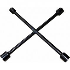 Klíč na kola křížový černý 17,19,21 a 23 mm