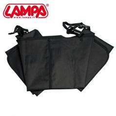 Ochranná deka pro psa 145x150cm černá