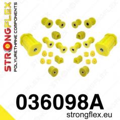 BMW řada 3 (E21) StrongFlex Sport kompletní sestava silentbloků 22 ks