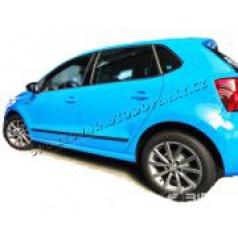 VW Polo 6C, 2015- , 5 dveř., po FL - boční lišty dveří