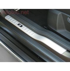 Kryty prahů, ABS - stříbrný matný, Škoda Yeti  09/2009 –