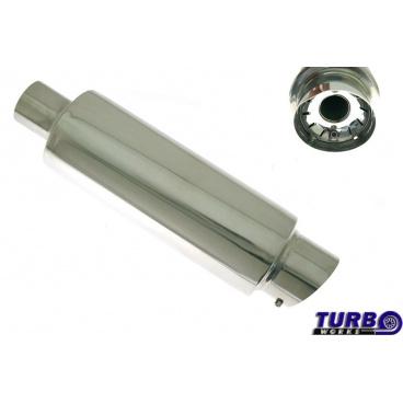 Sportovní výfuk TurboWorks kulatá koncovka (60 mm vstup)