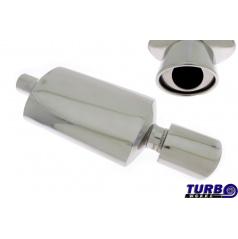 Sportovní výfuk TurboWorks oválná  koncovka 115x88 mm