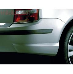Škoda Fabia Combi/Sedan Facelift zadní rozšíření nárazníku 2 ks, ABS-černý