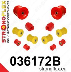 BMW rad 7 Strongflex zostava silentblokov len pre zadnú nápravu 8 ks
