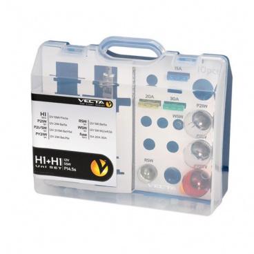 Box žárovek MEGA UNI 12V H1+H1