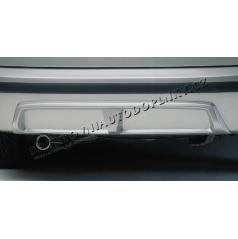 Difuzor zadního nárazníku - ABS černý, Škoda Fabia Combi/Sedan