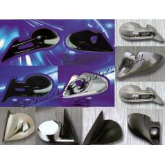 Sportovní zrcadla 2ks včetně adaptérů různé tvary