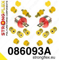 Honda Civic 1996-2000 StrongFlex Sport sestava silentbloků jen pro zadní nápravu 18 ks