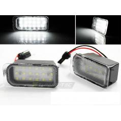 Ford Fiesta / Focus / Mondeo / C-Max / S-Max / Galaxy LED osvětlení SPZ (PRFO01)