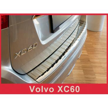 Nerez kryt- chrom ochrana prahu zadního nárazníku Volvo XC60 2013-17