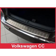 Nerez kryt- ochrana prahu zadního nárazníku Volkswagen CC 2012+