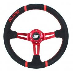 Sportovní volant WRC RED 350 mm