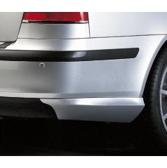 BODY-KIT zadní rozšíření nárazníku, ABS - stříbrný matný, Škoda Octavia II Lim.