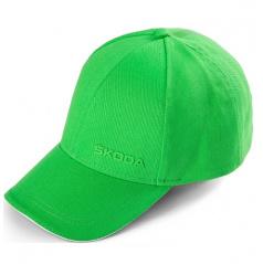 Originální kšiltovka ŠKODA zelená