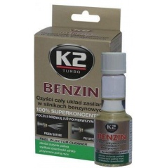 K2 BENZIN - aditivum do paliva 50 ml