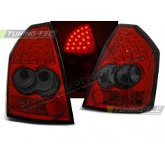 Chrysler 300C 2005-08 zadní lampy red smoke LED (LDCH04)
