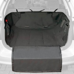 Ochranná deka pro psa mezi sedadla PROFI 145x147 cm černá
