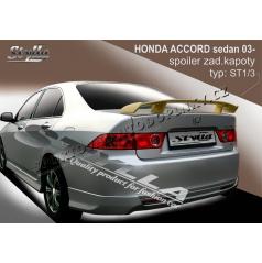 HONDA ACCORD sedan 03-08 spoiler zad. kapoty (EU homologace)