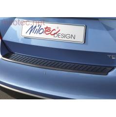 Práh pátých dveří s výstupky, ABS-černá metalíza, Škoda Rapid 2013 –