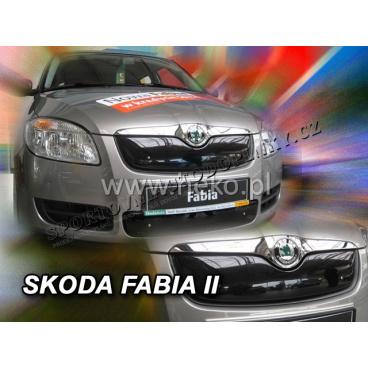 Zimní clona - kryt chladiče Škoda Fabia II 5 dveř. 2007 - 2010, (horní)
