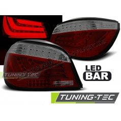 BMW E60 07.2003-02.2007 zadní lampy red smoke LED BAR (LDBMC4)