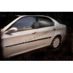 Alfa Romeo 166, 1998-2007, sedan, boční ochranné lišty dveří