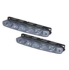 Světla pro denní svícení 2x5 LED-Plus 220x27 mm