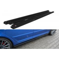 Difuzory pod boční prahy pro Škoda Octavia RS Facelift Mk2 Facelift, Maxton Design (černý lesklý plast ABS)