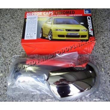 Kryty zpětných zrcátek chrom - BMW E36 (91-97)