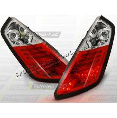 Fiat Grande Punto 2005-09 zadné LED lampy red white (LDFI02)