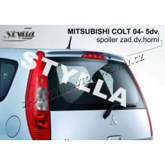 MITSUBISHI COLT 5D 04+ spoiler zad. dveří horní