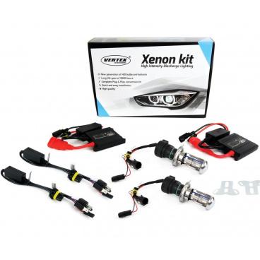 Xenon přestavbová sada H4 4300K BIXENON SLIM (malé trafo)
