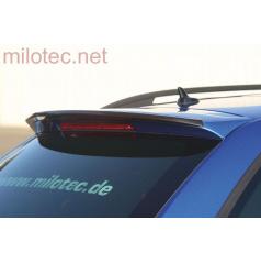 Převlek originálního spoileru RS, ABS černá metalíza Škoda Octavia III RS Combi