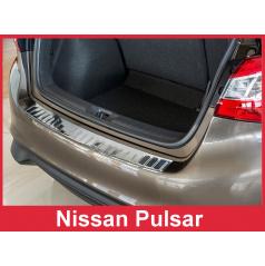Nerez kryt- ochrana prahu zadního nárazníku Nissan Pulsar 2014+