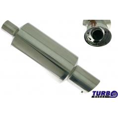 Sportovní výfuk TurboWorks dlouhá kulatá koncovka se silencerem 2