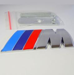 Znak BMW M POWER do přední masky kovový