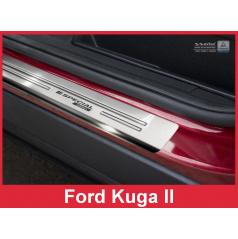 Nerez ochranné lišty prahu dveří 4ks Ford Kuga II 2012-16