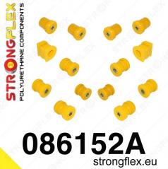 Honda S2000 2005-09 StrongFlex Sport sestava silentbloků jen pro zadní nápravu 14 ks