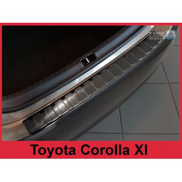 Nerez kryt- ochrana prahu zadního nárazníku Toyota Corolla XI E160 FL 2016+